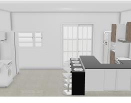 cozinha com porta22