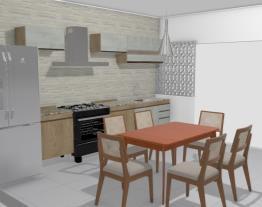 Cozinha Família Marcelo / Leide OPÇÃO 3