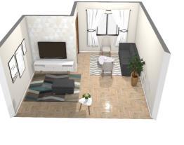 Projeto sala estar e tv