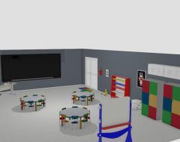 Sala de Aula Pintando o ABC