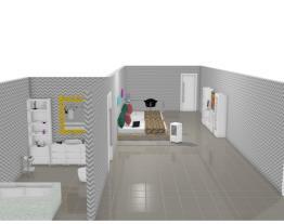 Quarto,Closet E Banheiro