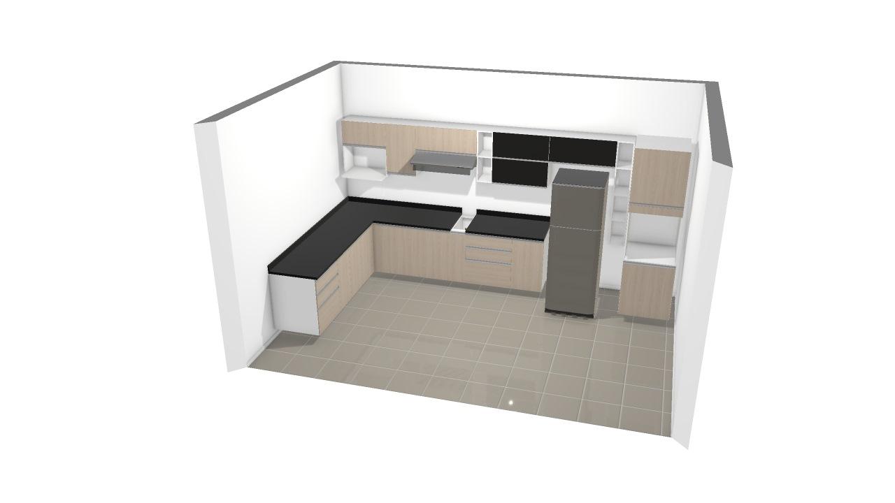 Cozinha Provincia OJF Eletromóveis
