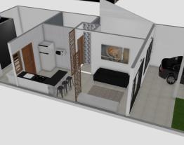 ÁREA DA FRENTE 6.20m. 6x6 =570 largura construida interna