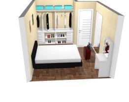 quarto casal com closet