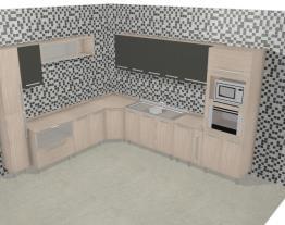 Cozinha Modulada Completa com 16 Módulos Smart Fendi/Cristal - Henn