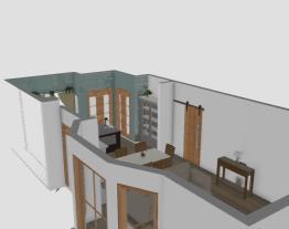 Sala e cozinha 3