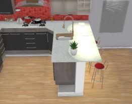 Cozinha invertida