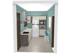 Cozinha  Verde 2