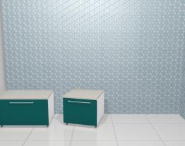 Armários do banheiro