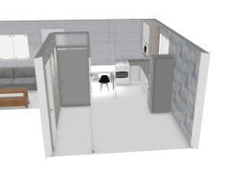 Meu projeto Kappesberg sala e cozinha