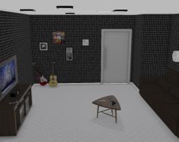 Projeto Sala de estar Futurista