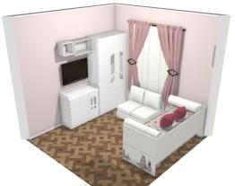 quarto Lara e Esther