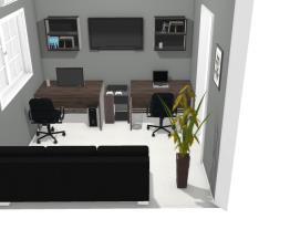 Sala de Estar/Escritório 3x3