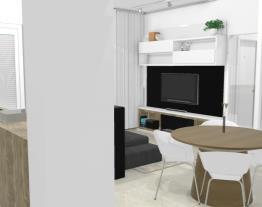 Cozinha + sala + closet = ok