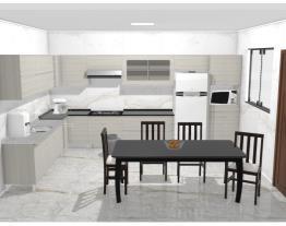 cozinha de cinthia