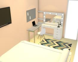 Minha vez de fazer o quarto da Dara
