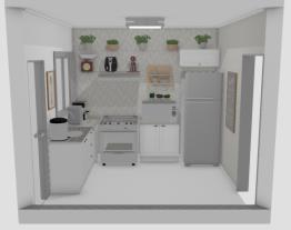 Cozinha casa esplanada