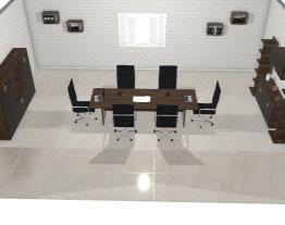 Sala de Reunião- Malaga-Preto