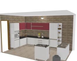 Projeto cozinha clarice -Bran/Vermelho