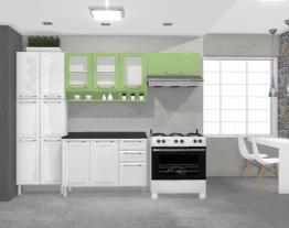 Cozinha Tarsila Amarela - Verde