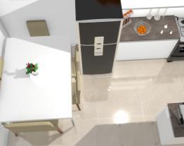 Cozinha c/mesa 6 cadeiras