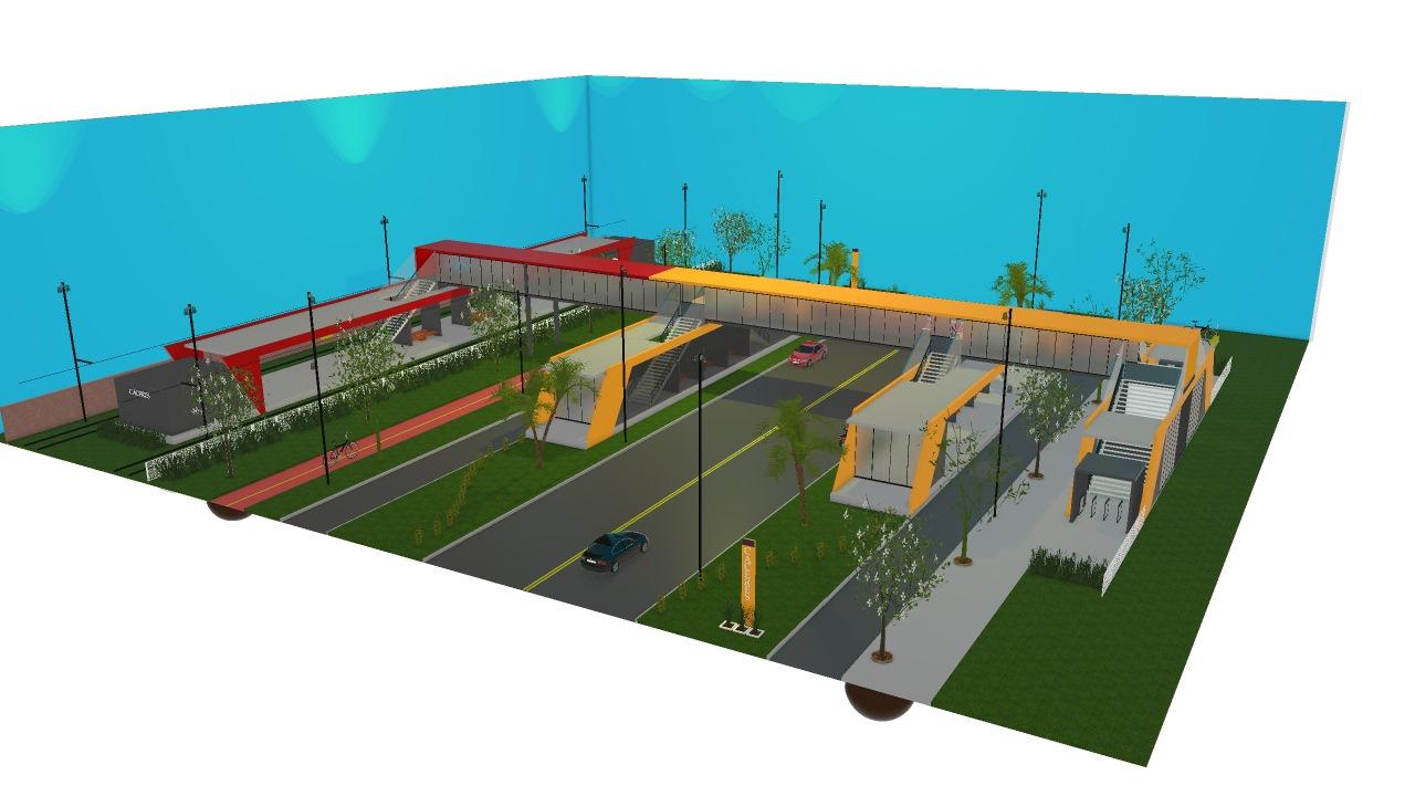Estação integrada Cáceres