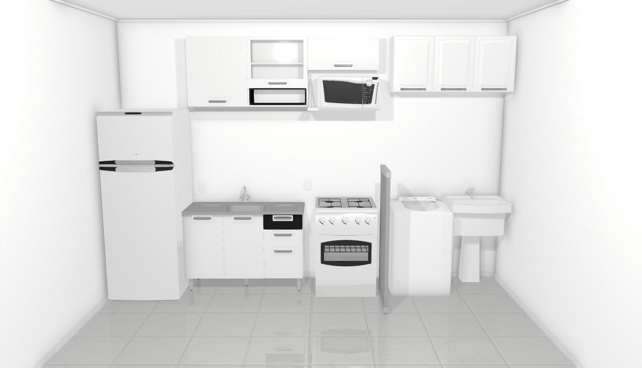 Cozinha 01 Gabbie
