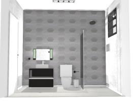 Banheiro Cinza