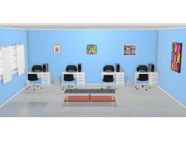 Sala desenvolvimento de jogos