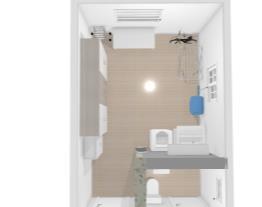 área serviço lavabo