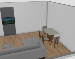 projeto sala conominio