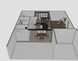 Area com varanda e piscina 3