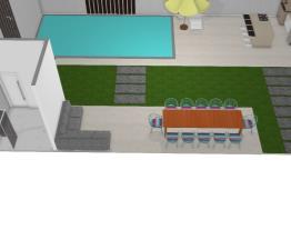 Área Externa - Casa Modelo