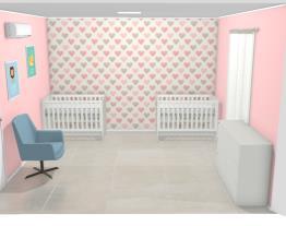 quarto de Bebê para Gemêos