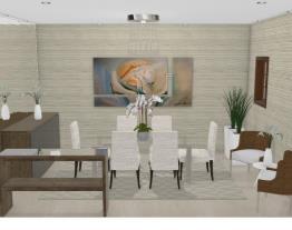 Sala jantar estreita3 - Graziela Lara