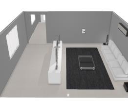 Sala de estar - tamanho médio