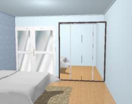 Roupeiro 04 portas de vidro ou espelho abrir composição 01 - Ref. 6200/01 - Quiditá