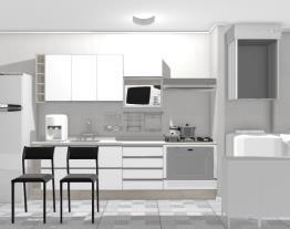 Cozinha com área (01)
