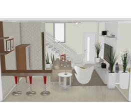 3 Sala estar/tv - Giane por Graziela Lara