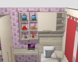 Larissa quarto da filha