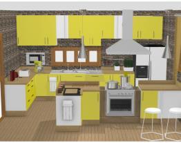 minha cozinha Amarela 18
