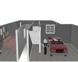 Parte de Baixo Projeto com 2 quartos