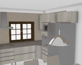 Cozinha S vidro