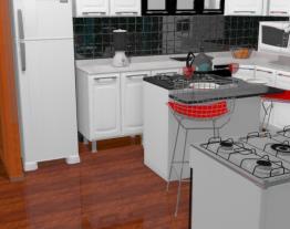 Cozinha de meus sonhos vani - Casa 257 - 03