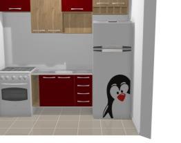 Cozinha Vermelha Paula