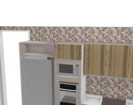 cozinha e hall