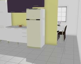 Cozinha Modulada em Aço Completa 4 Módulos Play Branco Sal/Roxo Beterraba - Casamob