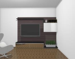 Home Theater 200 cm com prateleiras - Ref. 5075 - Quiditá