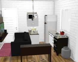 projeto casa de 2 comodos