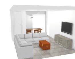 Sala sofá em L